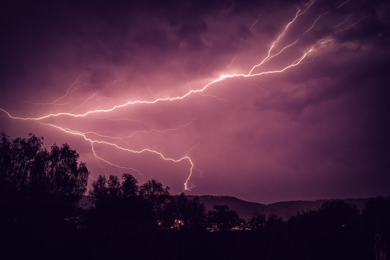 Thunderbolt and lightning - very, very frightening