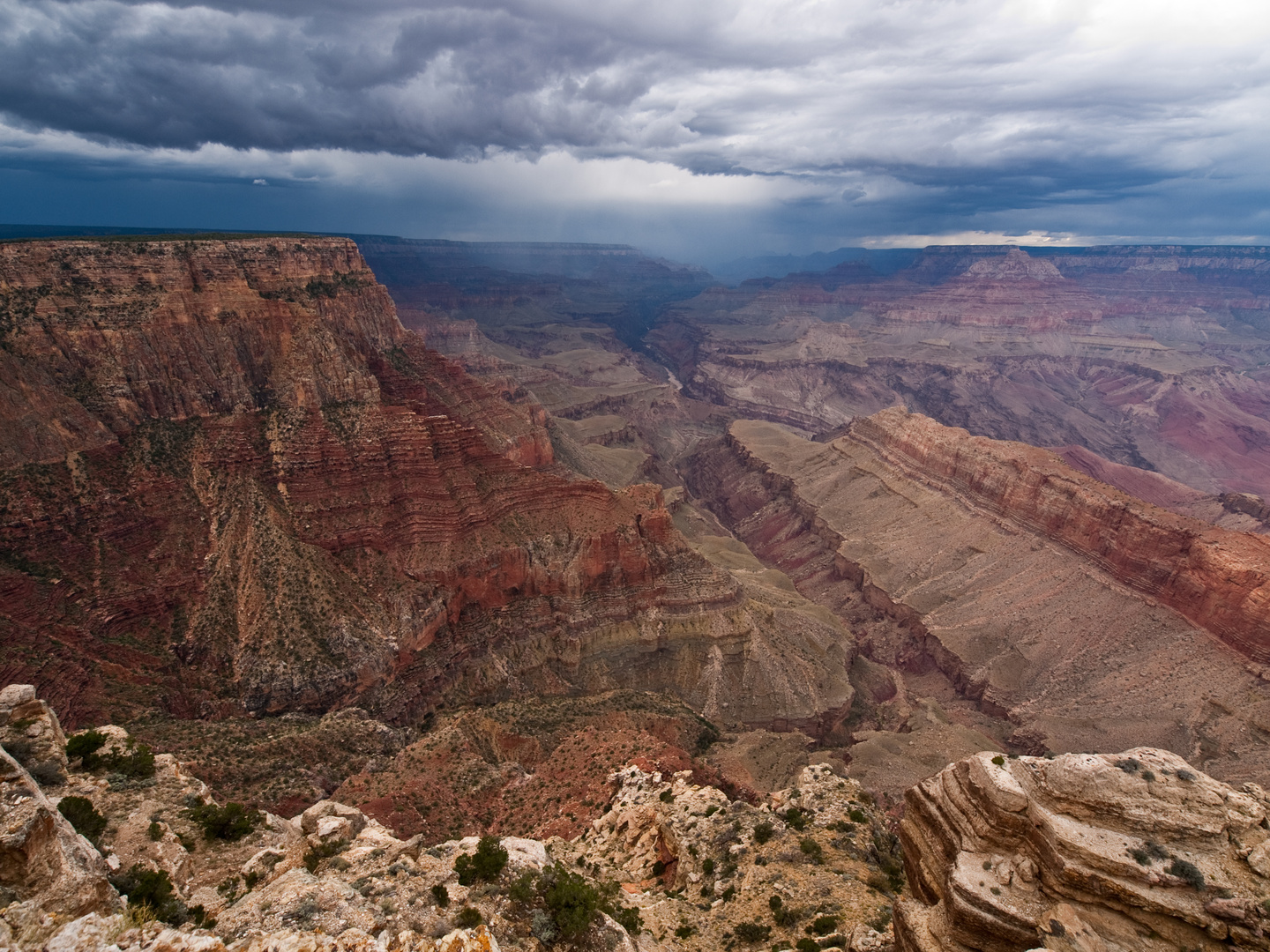 Thunderstorm am Grand Canyon