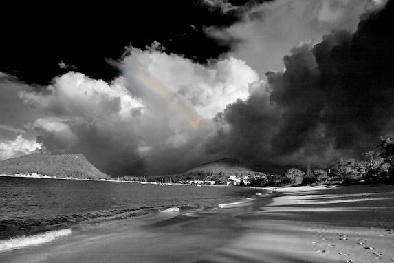 Thunderstorm and Rainbow