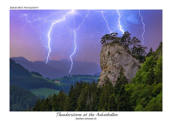 Thunderstorm at the Ankenballen
