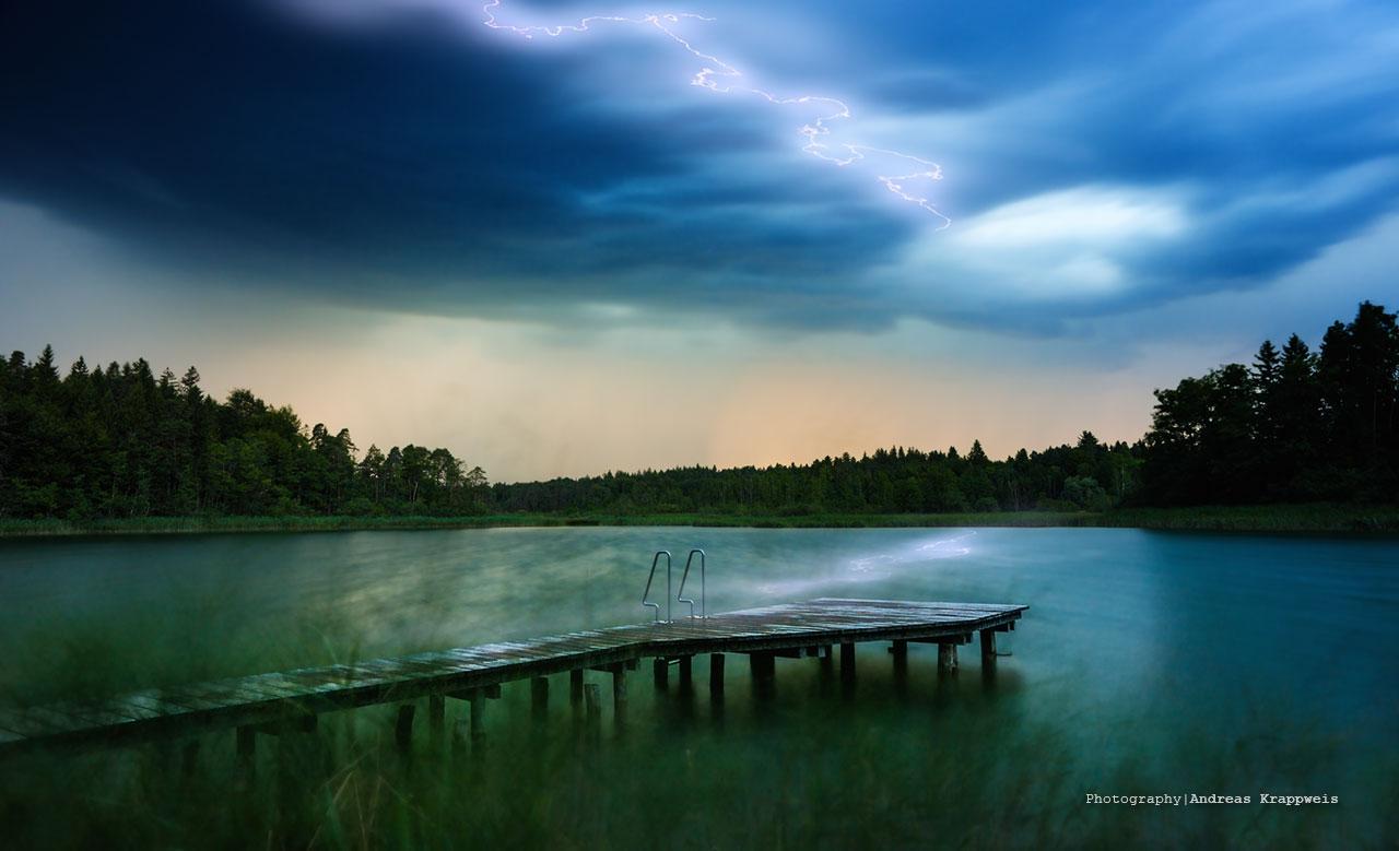 Thunderstorm on Lake