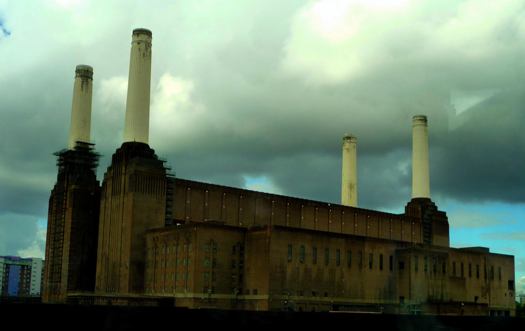 Thunderstorm over Battersea