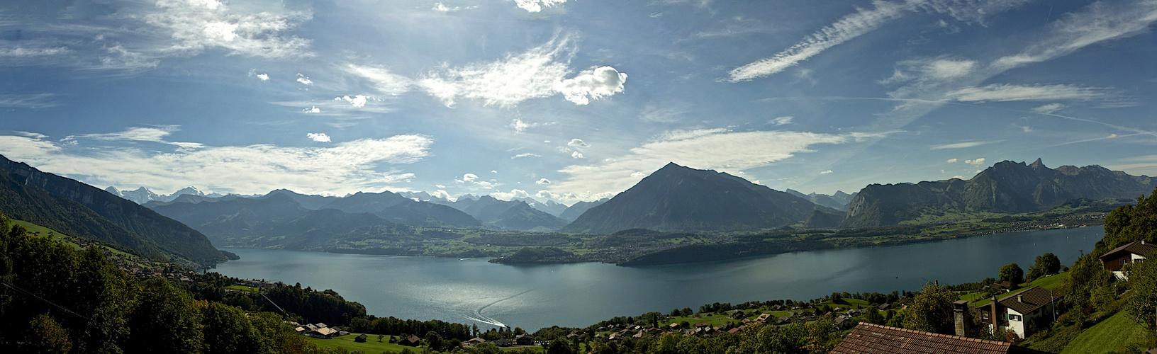 Thunersee im Berner Oberland