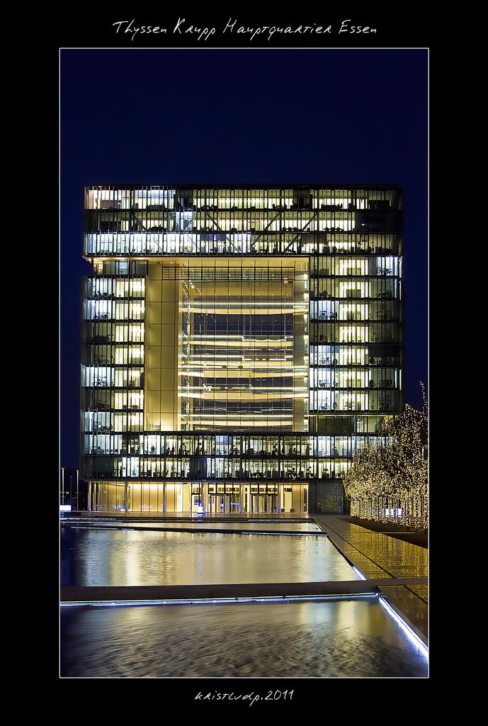 Thyssen Krupp Hauptquartier Essen
