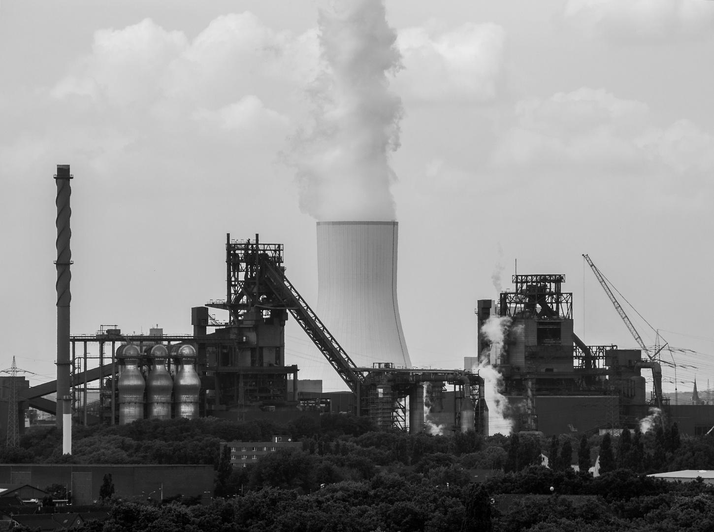 Thyssen Krupp Stahlwerk in SW