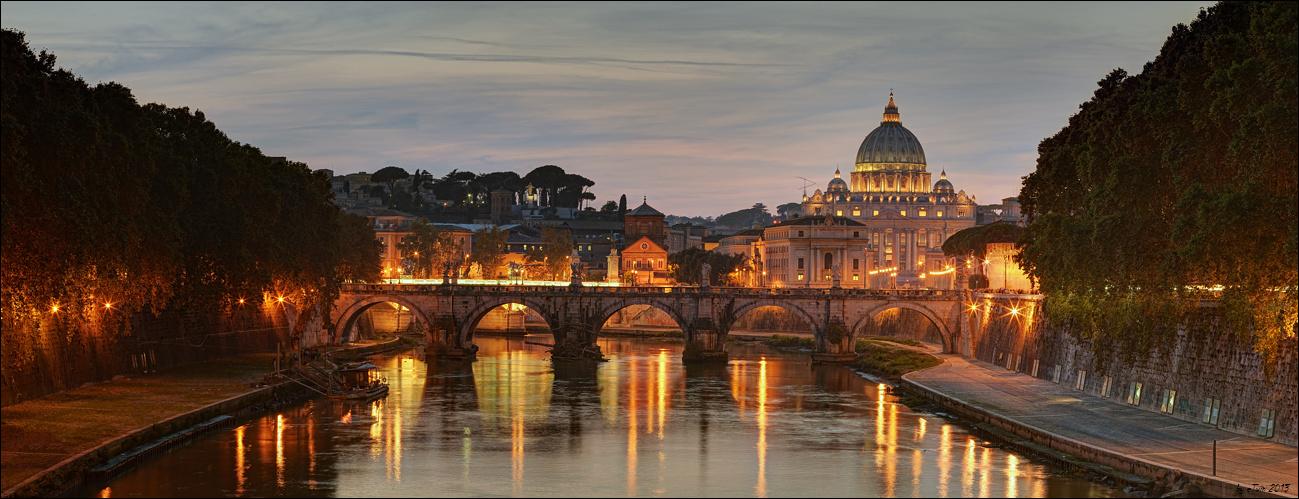Tiber & Petersdom & ...