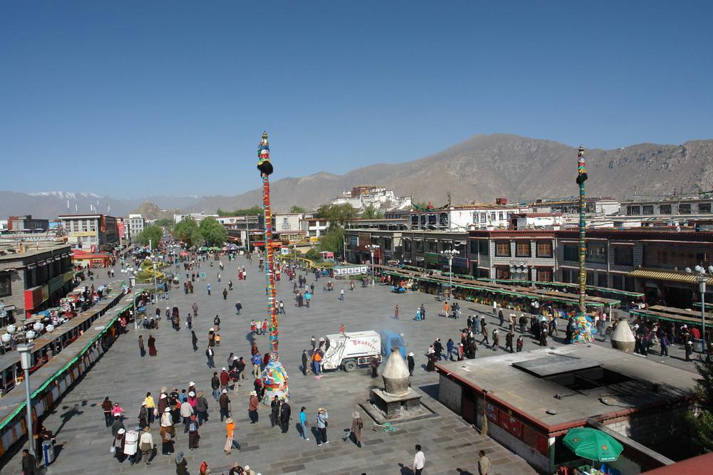 Tibet 15 Barkhor Square Lhasa
