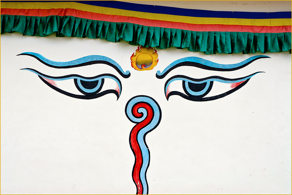 Tibet ist near and watching you