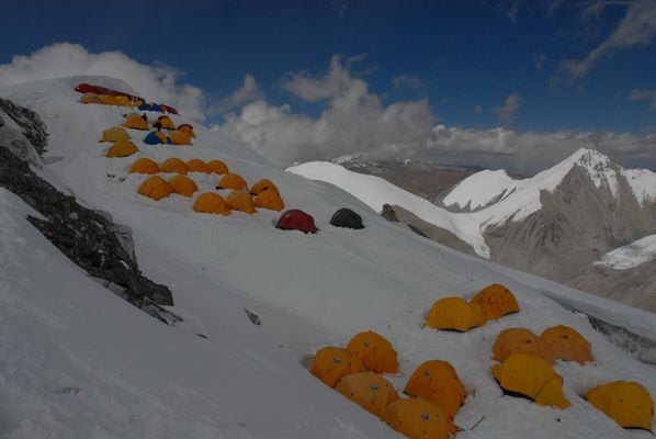""" Tibet - Mt. Cho Oyu (8,201m) Expedition"""