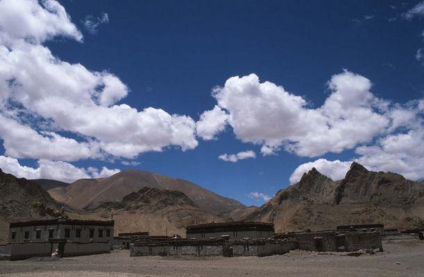 tibet. siedlung