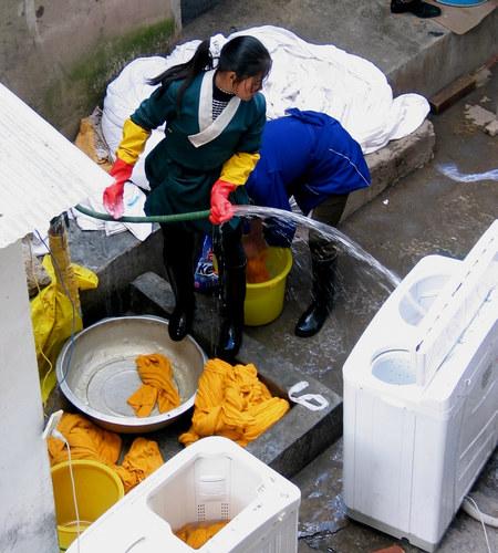 Tibetan laundry