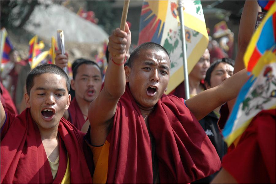 Tibetan Uprising Day 3