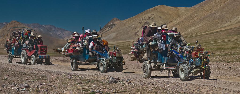 Tibeter auf Reisen