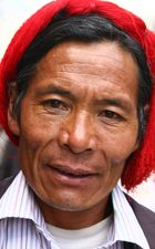 Tibeter bei der Kora