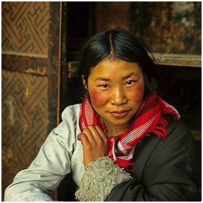 Tibeterin in Lhasa 02
