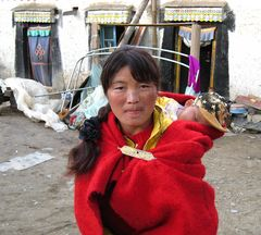 tibetische Mutter