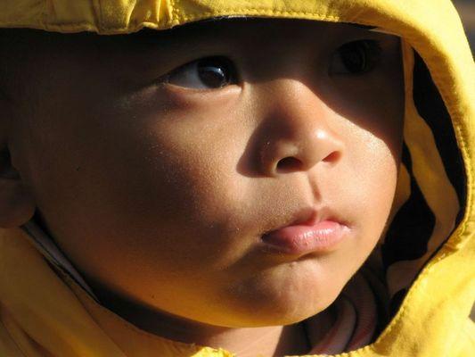 Tibetischer Junge