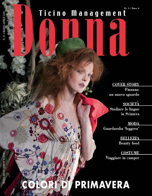 Ticino Management Donna - Cover  Aprile 2009