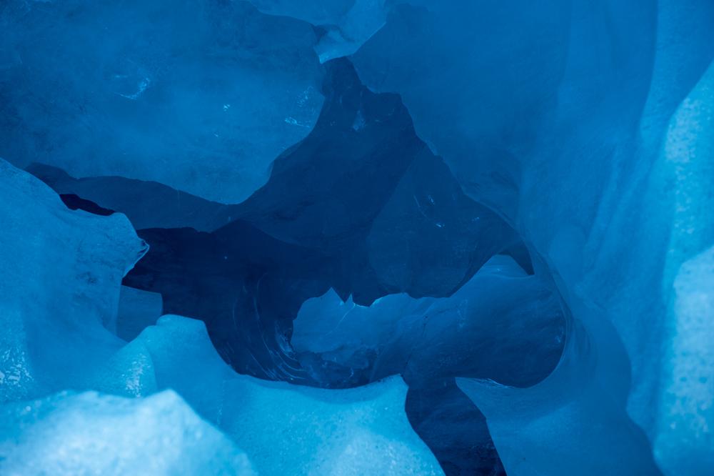 Tief im Eis