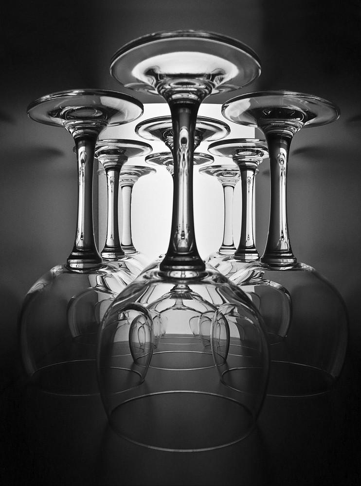 Tief ins Glas geschaut                - reload -