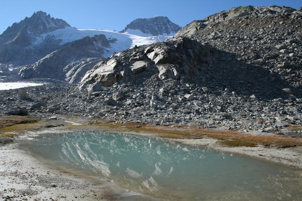 Tiefengletscher und Galenstock (3'583 m ü. M.)