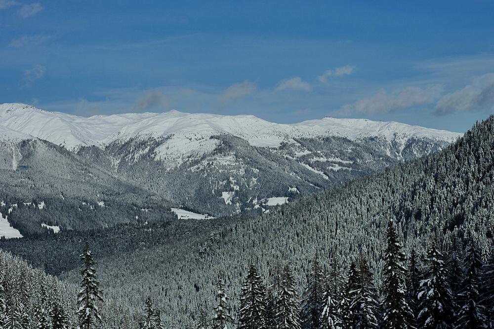tiefer Winter in den Dolos