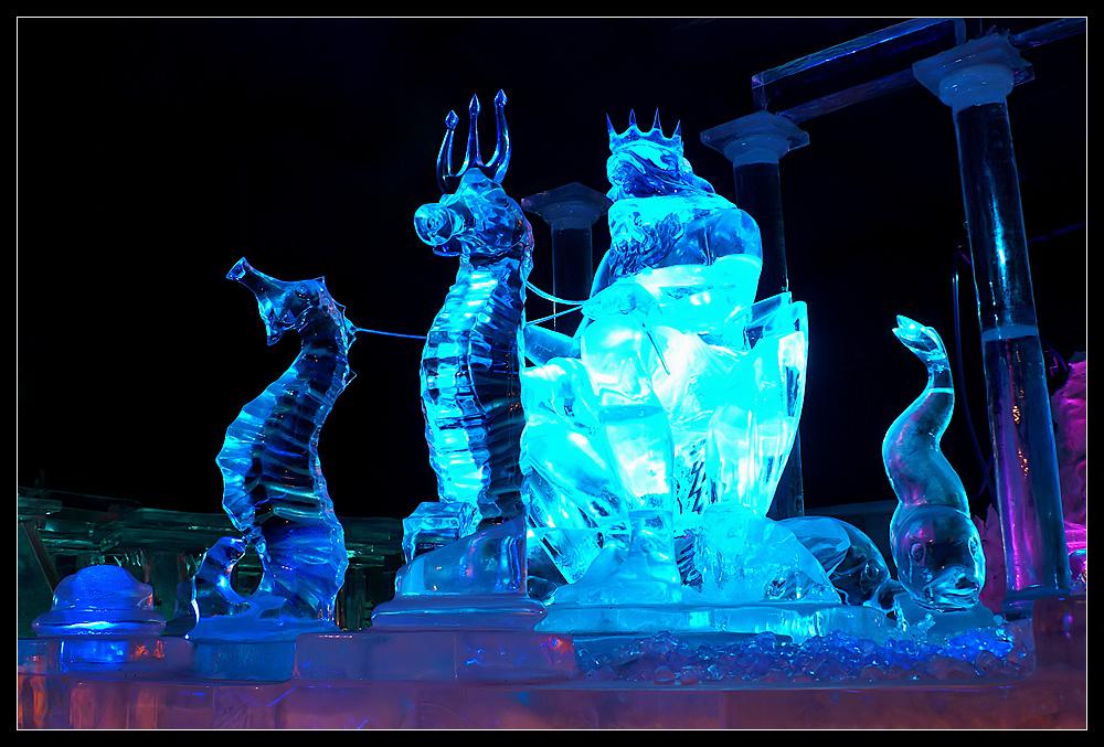 Tiefgefrorener Neptun
