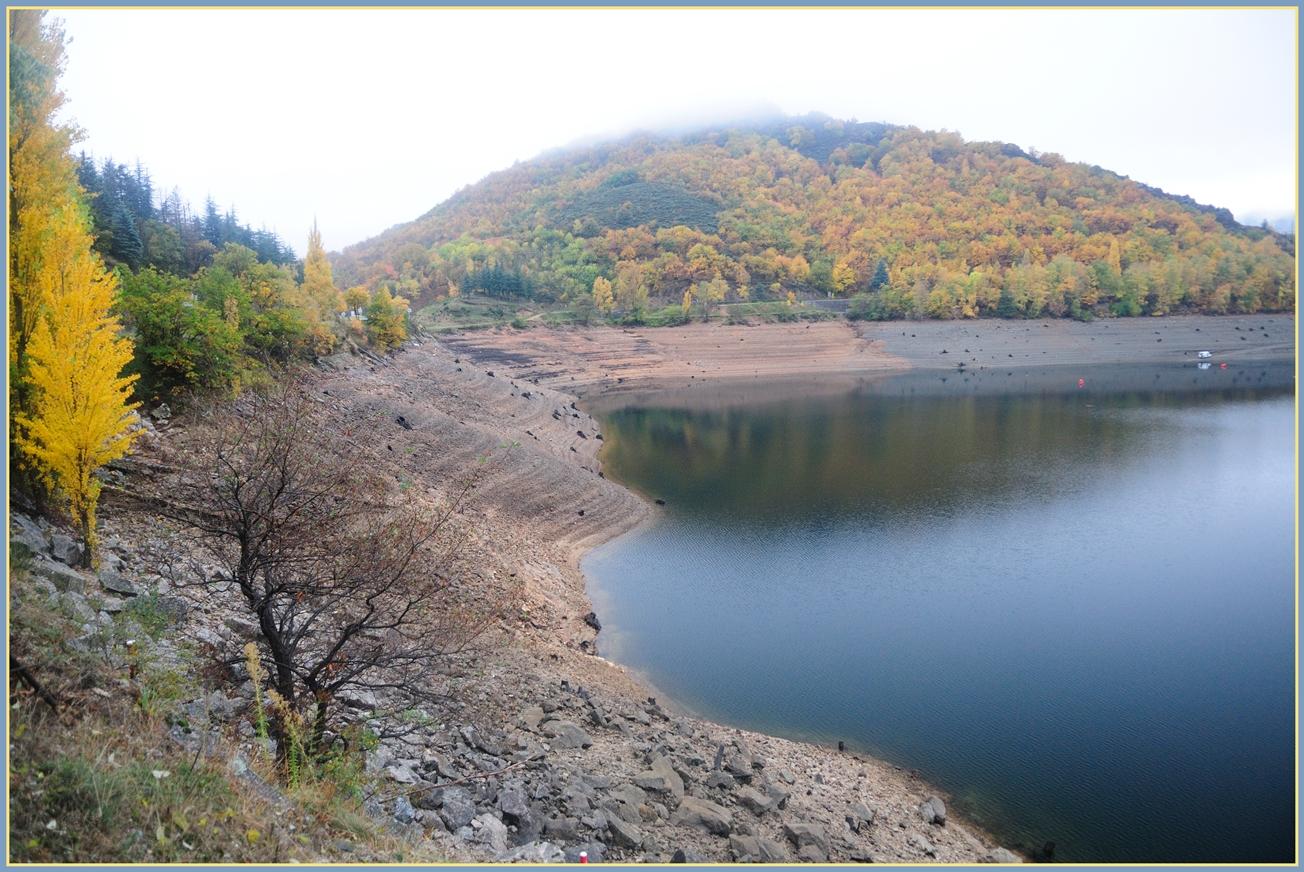 Tiefstand; Der Lac de Villefort