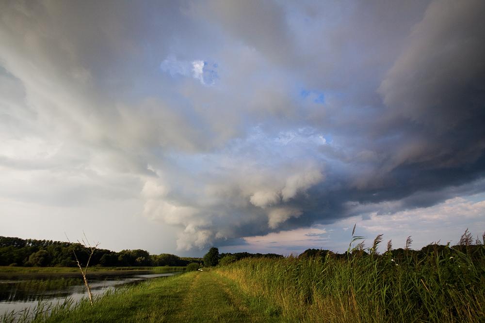 tiefziehende Wetter