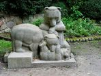 Tier-Skulptur