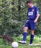 Tierischer Fußball-Nachwuchs