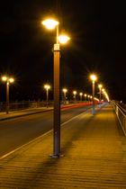 Tierpark-Brücke bei Nacht 2