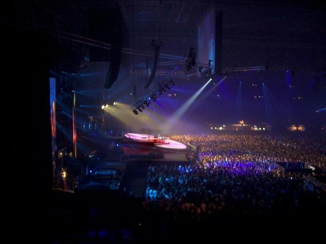 Tiesto in Concert 30.10.04 Arnhem Niederlande