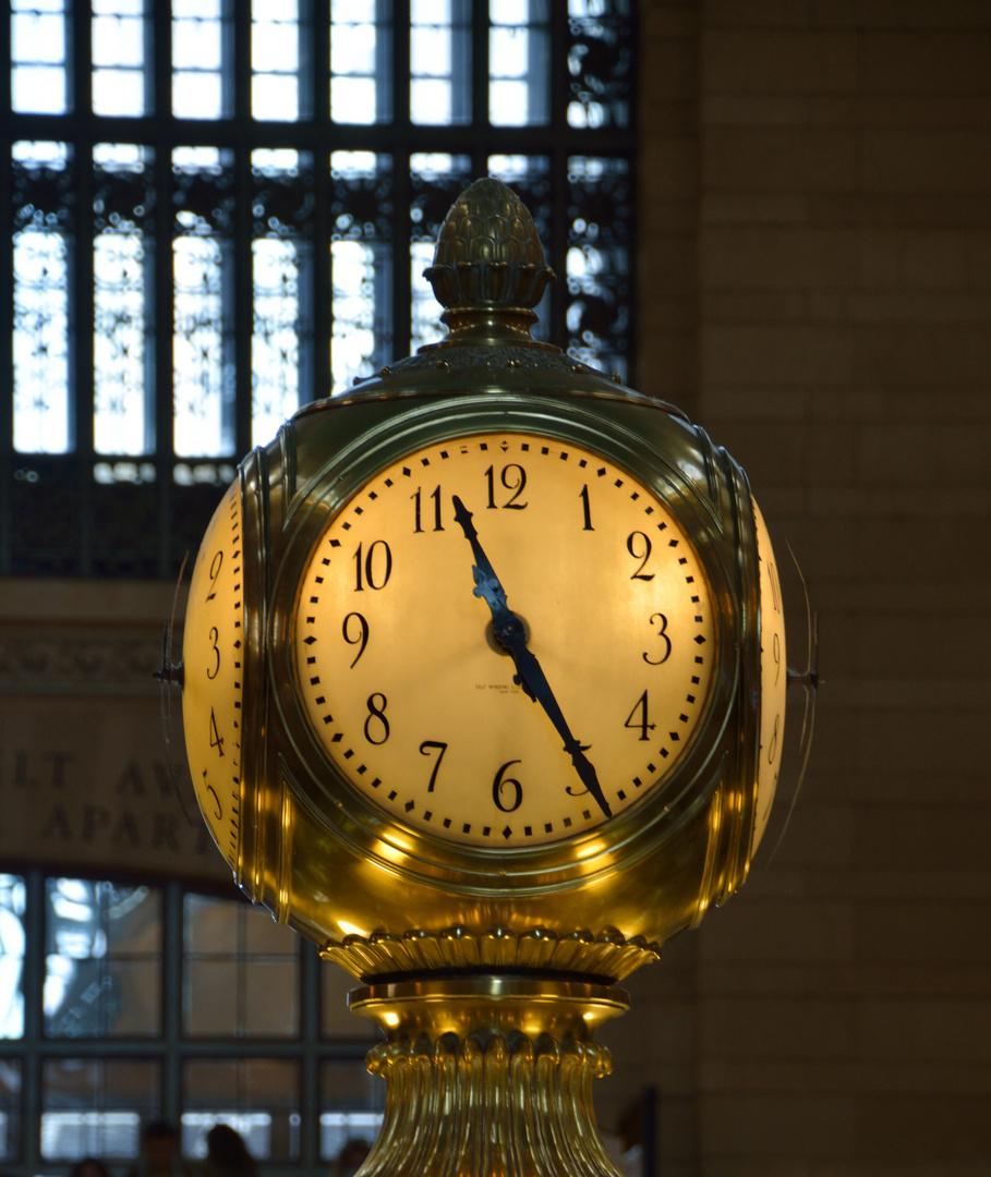 Tiffany-Uhr Grand Central Station