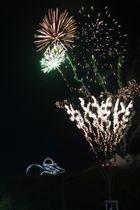 Tiger & Turtle im Feuerwerk