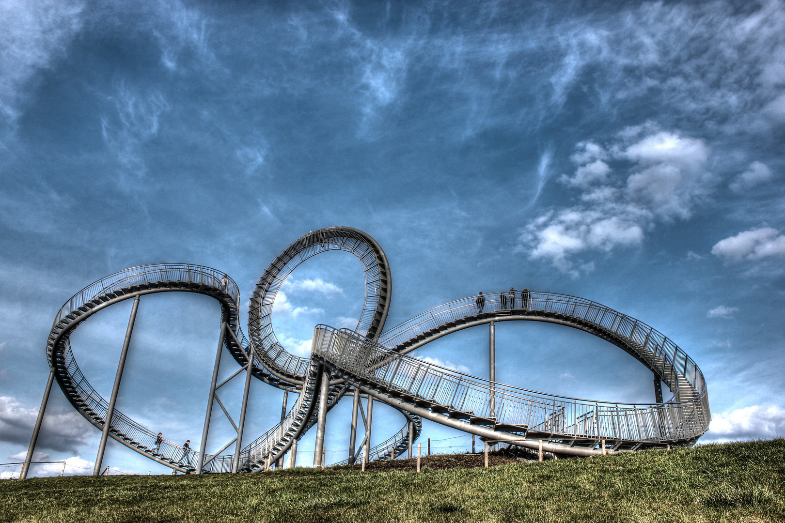 Tiger & Turtle - Magic Mountain Landmarke Angerpark in Duisburg