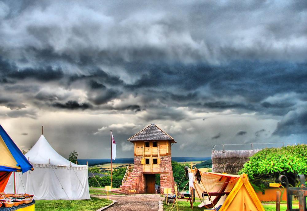 Tilleda im Mittelalter