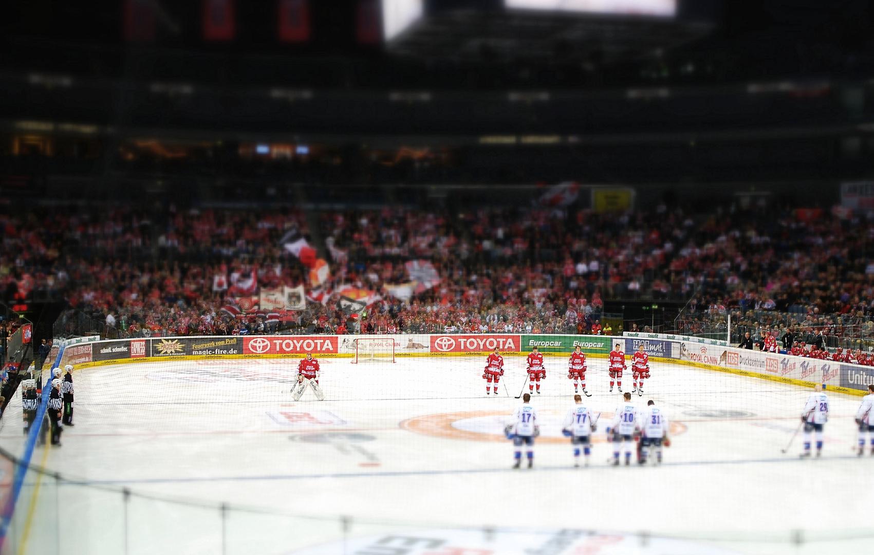Tilt & Shift in der Lanxess Arena