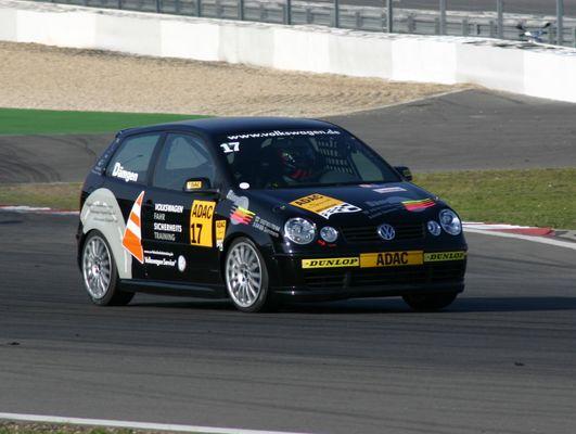 Tim Dämgen auf dem Nürburgring