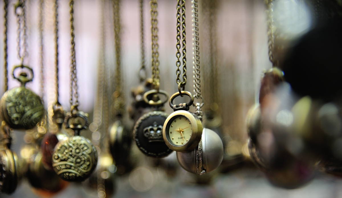 Time is all around us