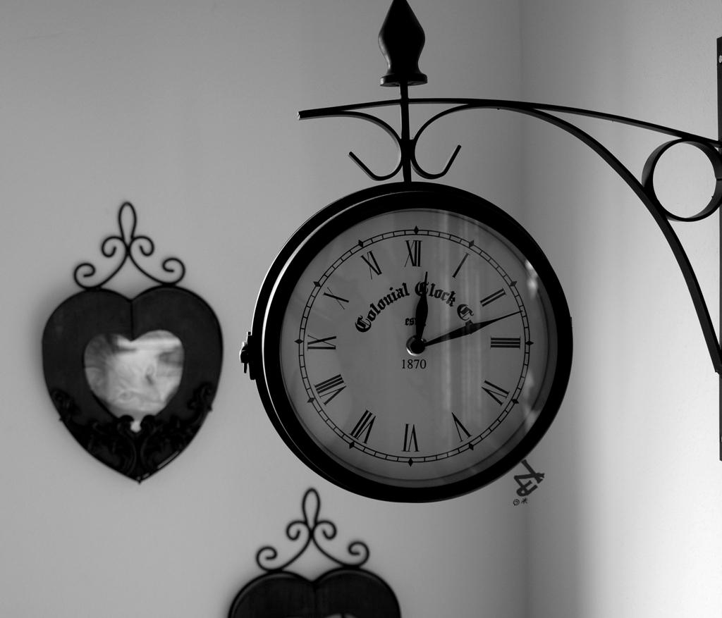 Time runs dry