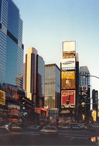 Time Square am späten Abend