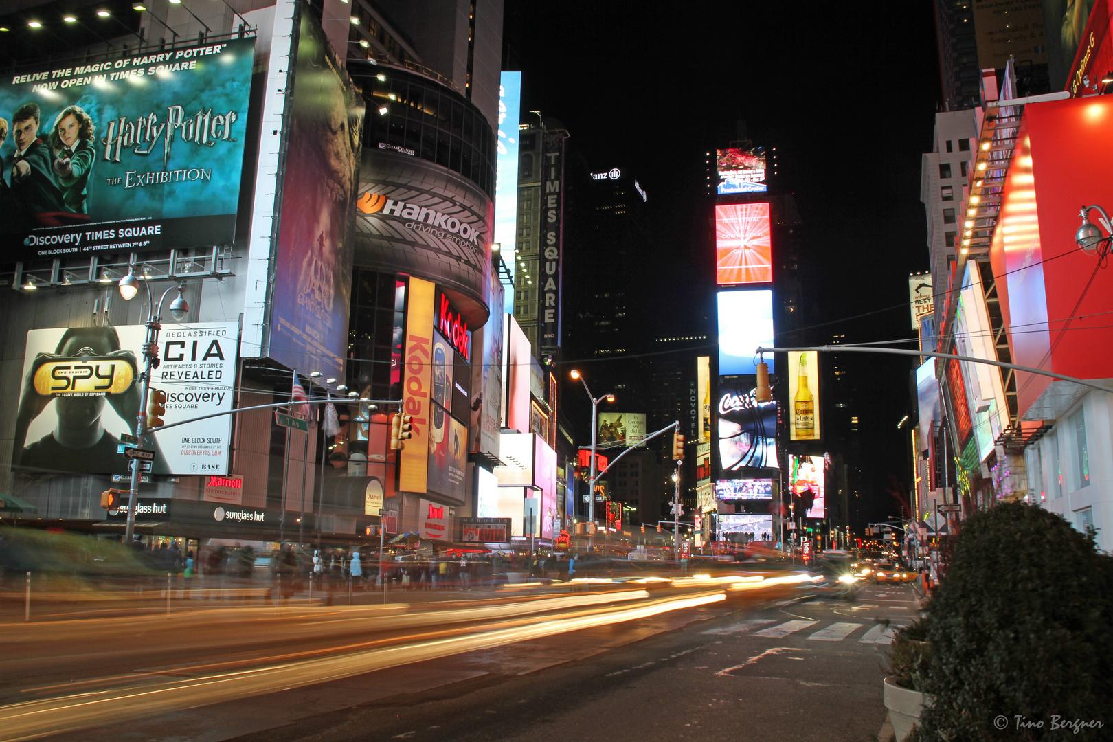 Time Square @ Night