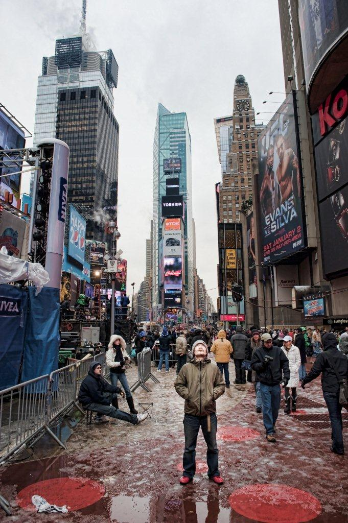 times square 12/31/2009