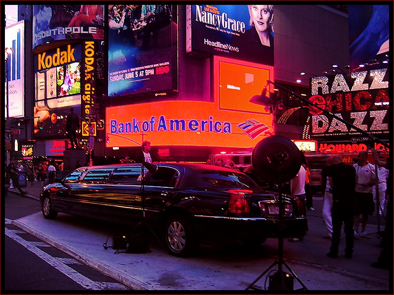 Times Square Action