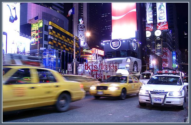 Times Square bei Tag?