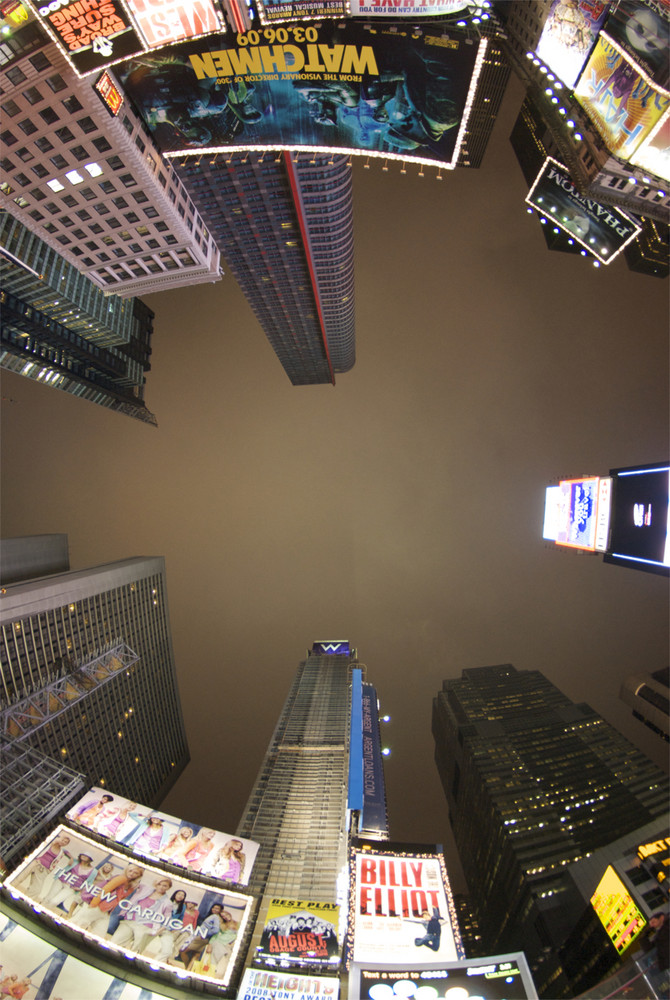 Times Square im März 2009
