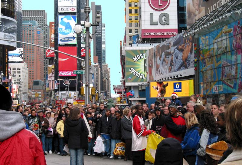 Times Square New York: Where the World comes to play games
