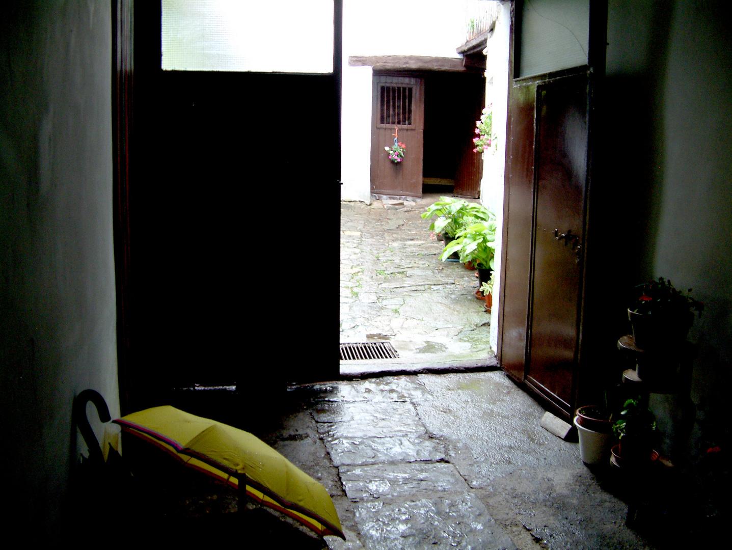 Tímida luz de un día lluvioso