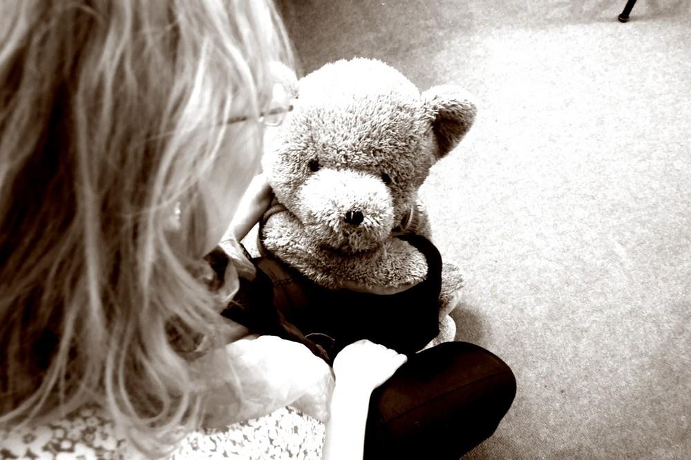 Tina und der Bär